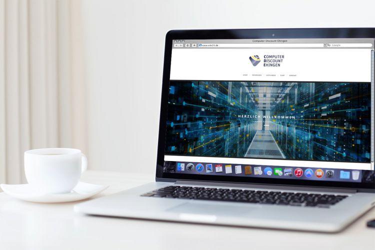 Computer Discount Ehingen – Website, Responsive Webdesign