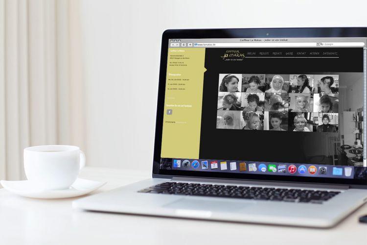 Coiffeur La Makas – Webdesign, Website, Fotografie