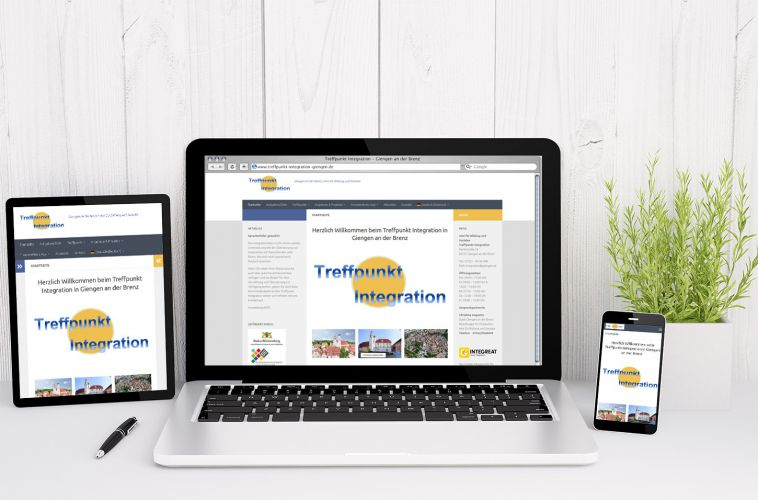 Treffpunkt Integration Giengen – Webdesign, Website